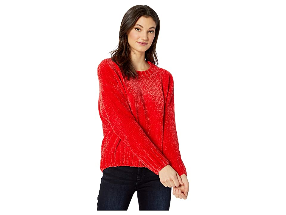 Sanctuary Chenille Pullover Sweater (Street Red) Women