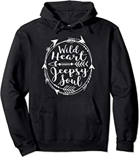 Womens wild heart jeep-sy soul Pullover Hoodie
