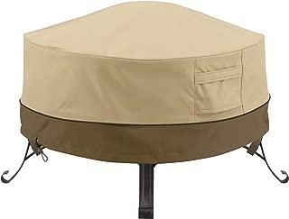 Classic Accessories 55-489-011501-00 Veranda Round Fire Pit/Table Cover, 36-Inch