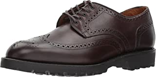 Men's Tate Wingtip Blucher with Perfing Detail and Lug Sole Oxford