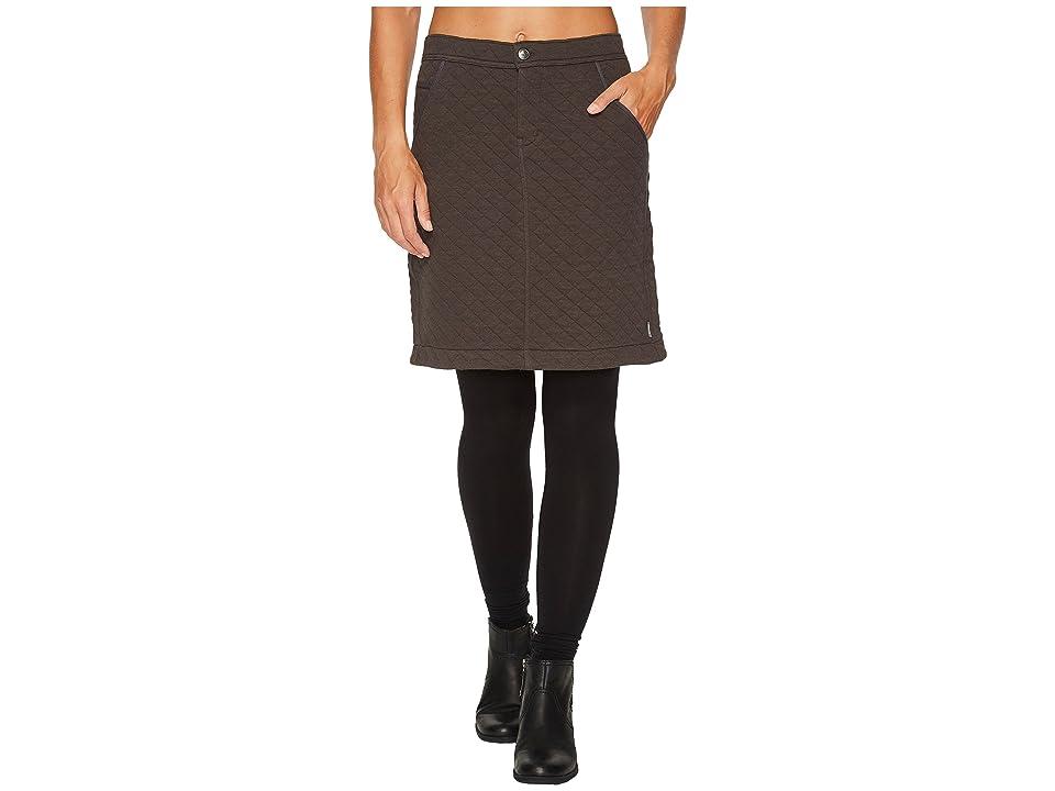 Woolrich West Creek Skirt (Asphalt) Women