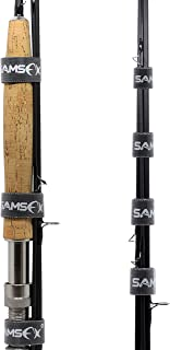 SAMSFX Fishing Rod Straps Safety Pole Ties Belts Holder 12pcs in Pack