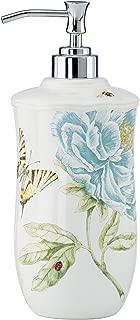 Lenox Butterfly Meadow Floral Garden Lotion Dispenser, Blue - 834020