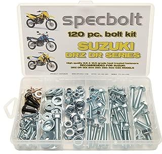 120pc Specbolt Suzuki DRZ DR four stroke Bolt Kit for Maintenance & Restoration of DRZ400 using OEM Spec Fastener DR-Z DR 70 100 110 125 200 250 350 400 650 DRZ SM