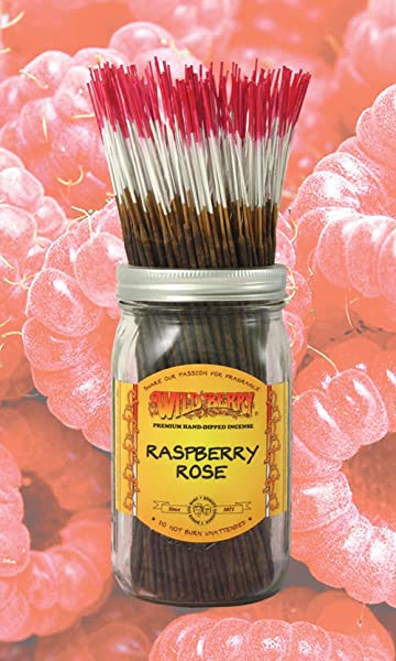 Raspberry Rose 100 Wildberry Incense Sticks