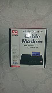 Zoom DOCSIS 3.0 Cable Modem 5341-02-03H