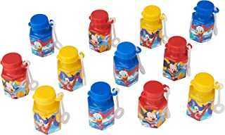 American Greetings Mickey Mouse Party Favors, Mini Bubbles, 12-Count