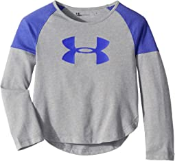 UA Big Logo Long Sleeve (Little Kids)