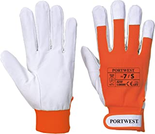 Portwest Tergsus Pig Leather Work Gloves