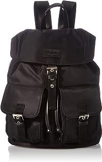 Buffalo Damen Oksana Rucksackhandtasche, Black, Normal