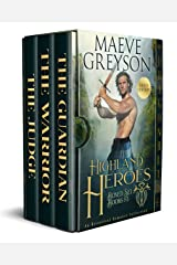 Highland Heroes Boxed Set Books 1-3: A Historical Romance Collection Kindle Edition