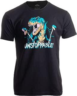 Unstoppable T-rex   Funny Dinosaur Dad Joke Silly Humor for Men Women T-Shirt
