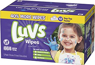 Luvs Baby Wipes 12x Count