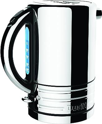 Dualit 72955 Design Series Kettle, Black and Steel