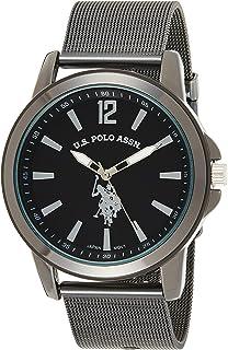 Classic Men's Quartz Metal and Alloy Watch, Color:Black...