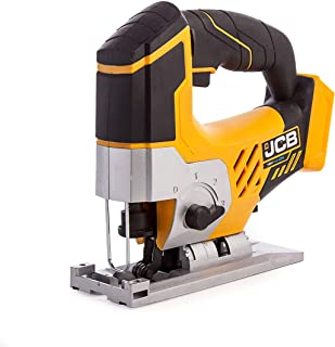 JCB - 18V Jigsaw Tool Body - Power Tools - Multi Tool - Wood Saw, Metal Saw, Plastic Saw - 4 Pendulum Settings - Cordless ...
