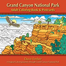 Sponsored Ad - Grand Canyon National Park Adult Coloring Book and Postcards