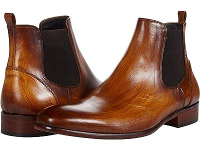 Massimo Matteo Almansa Chelsea Boot (Ambar) Men