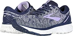47153cc1ebe5a Navy Grey Purple Rose. Brooks. Ghost 11