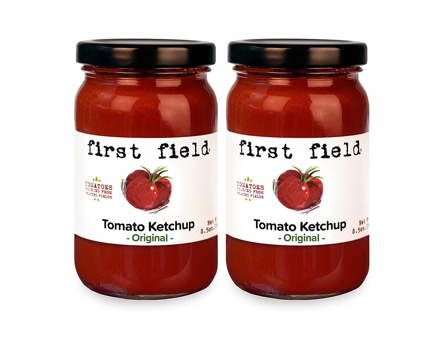 Special price for a limited time First Max 56% OFF Field Original Tomato Ketchup Tomatoes 100% Jersey b Fresh