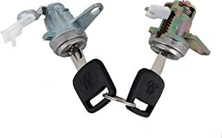 Golden Selection Door Lock Cylinder With 2 Keys Compatible With 93-97 Toyota Corolla 1.6L 1.8L L4 69051-13150 DL-72 69051-12360 69052-12360 69051-12340 69052-12340 69051-12370 69052-12370