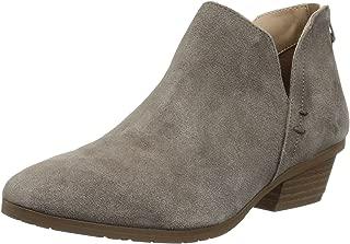 Women's Side Way Low Heel Ankle Bootie Boot