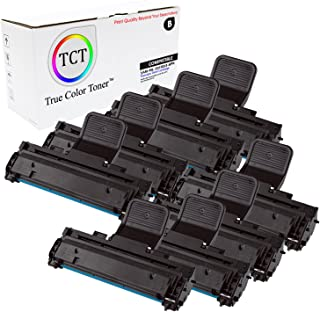 TCT Premium Compatible Toner Cartridge Replacement for Samsung ML-2010D3 Black Works with Samsung ML-2010 ML-2510 ML-2570 ML-2571N, SCX-4521F SCX-4521FG Printers (3,000 Pages) - 8 Pack