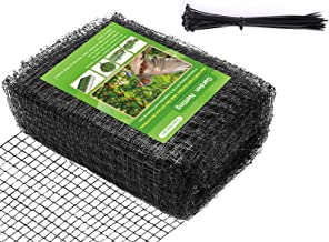 Heavy Duty Garden Bird Netting- Doesn't Tangle and Reusable, PP Material Anti-Bird Birds, Deer and Other Critters (6.56ft ...