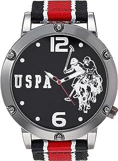 Men's Quartz Watch with Nylon Strap, Multicolor, 16...