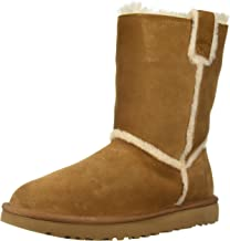 UGG Women's W Classic Short Spill Seam Fashion Boot
