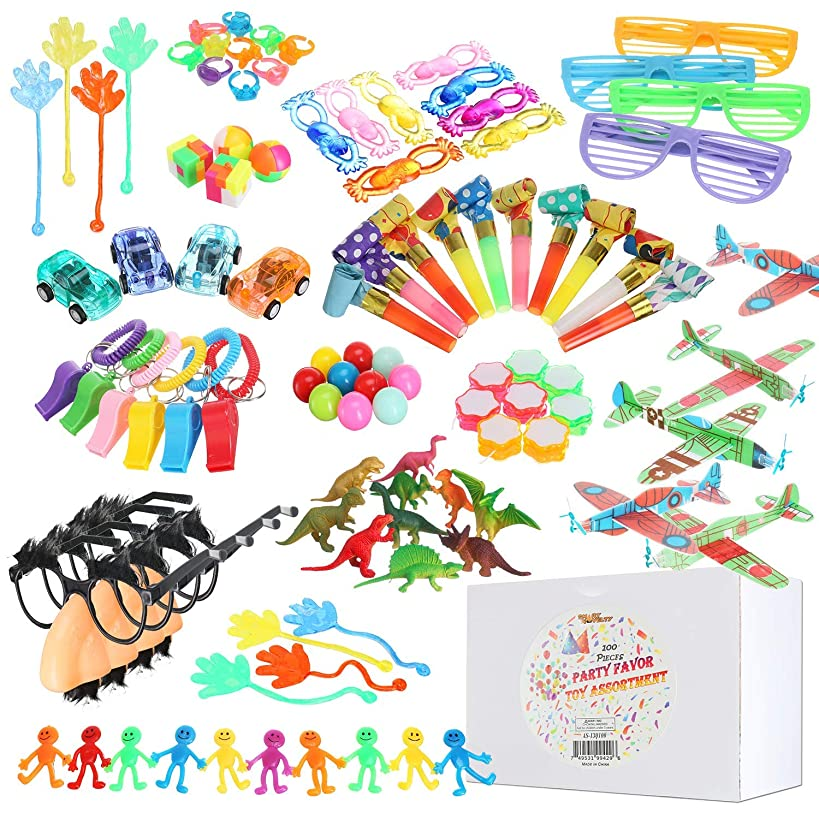Bulk Party Favors For Kids Toy Assortment Includes An Exciting Variety Of 102 Prizes For Party Favors, Classroom Rewards, Prize Box, Carnival Prizes, Pinata Filler