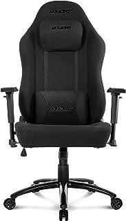 AKRacing Office Series Opal Ergonomic Fabric Computer Chair with High Backrest, Recliner, Swivel, Tilt, Rocker and Seat He...