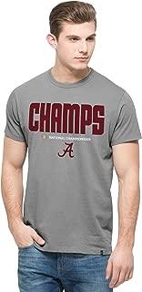 NCAA Alabama Crimson Tide Men's 2015 National Champions Crosstown MVP '47 Flanker Tee