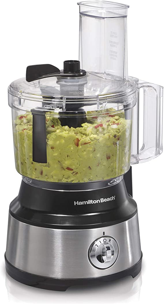 Hamilton Beach 10-Cup Food Processor & Vegetable Chopper with Bowl Scraper