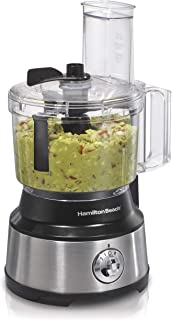 Hamilton Beach 10-Cup Food Processor & Vegetable Chopper with Bowl Scraper, Stainless..