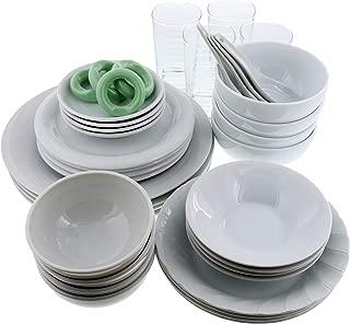 (アウトレット) 食器セット 白い食器の福袋 豪華40点セット
