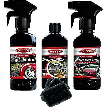 Sheeba Car Polish Kit (Black)