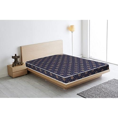 Euro Dreams Eurofit 4-inch King Size Bonded Foam Mattress (Blue, 78x72x4)