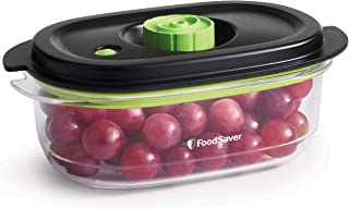 FoodSaver Preserve and Marinate Food Vacuum Container   700 ml Airtight BPA-Free Food Container   Leak-Proof and Dishwashe...