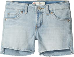 Altered Denim Shorty Shorts (Toddler)