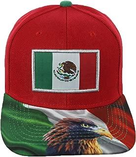 Baseball Cap Mexico Mexican Flag Eagle Hat Snapback Hats Fashion Caps