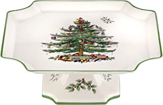 Best spode christmas tree footed cake plate Reviews