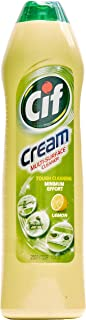 CIF Surface Cleaner Cream, Lemon, 500ml (Pack of 3)