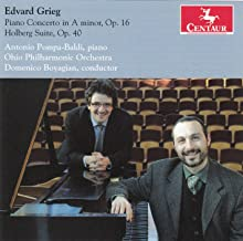 Piano Concerto in A minor Op 16 / Holberg Suite Op