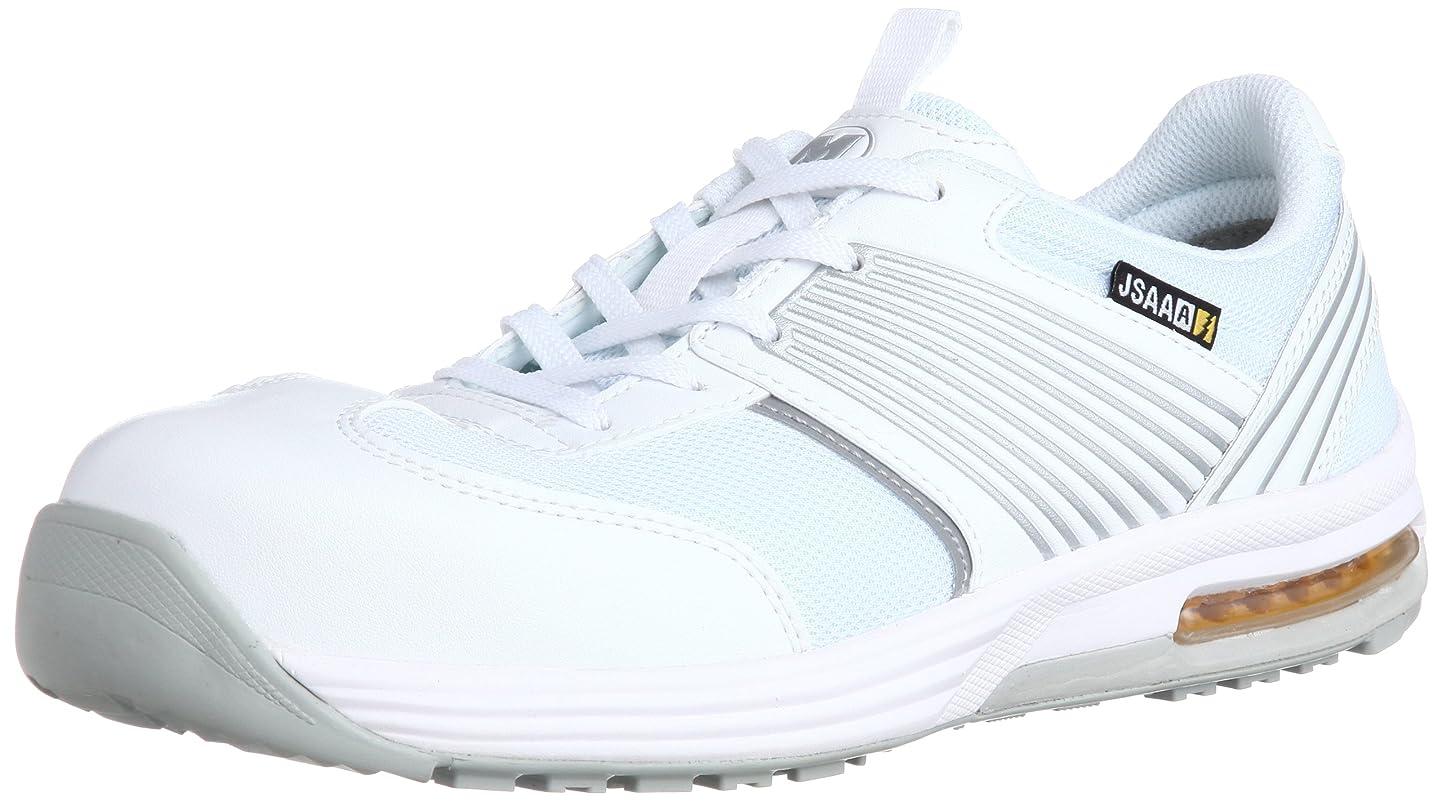 [ミドリ安全] 安全作業靴 JSAA認定 静電気帯電防止 耐滑 プロスニーカー ISA801