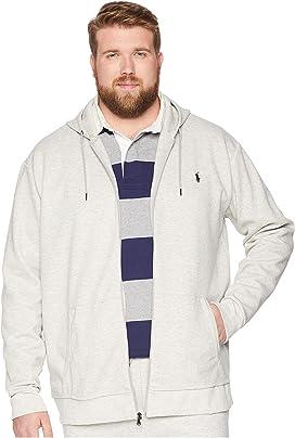 26e127da6 Polo Ralph Lauren. Classic Fleece Full-Zip Hoodie.  98.00. Big   Tall  Double Knit Full Zip