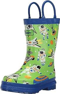 Hatley Boys' Astronauts Rainboots