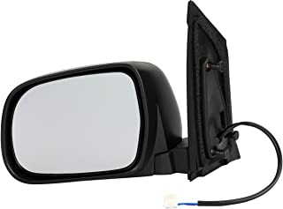 Dorman 955-1534 Driver Side Power Door Mirror - Heated/Folding for Select Toyota Models, Black