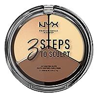NYX PROFESSIONAL MAKEUP 3 Steps to Sculpt Contour Palette