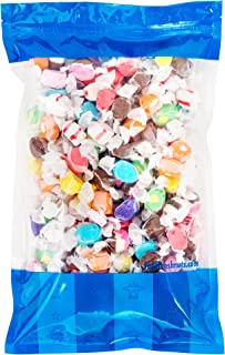 Bulk Salt Water Taffy - 5 lbs in a Resealable Bomber Bag - Great for Candy Bowls - Wholesale - Vending Machines - Party Size - Holiday Candy !!!